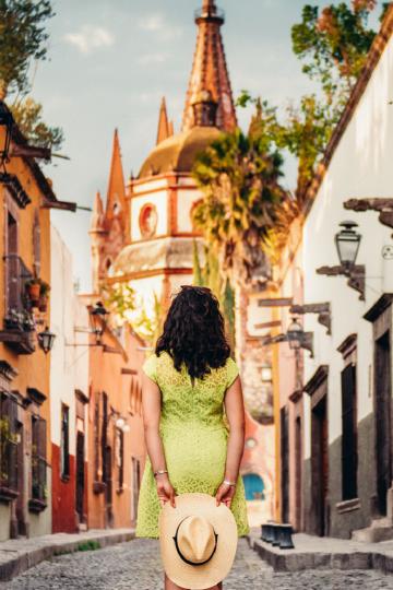 Calle en San Miguel de Allende