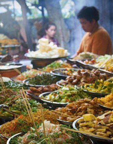 Comida callejara en Tailandia