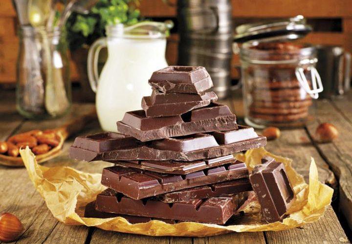 Tablillas de chocolate
