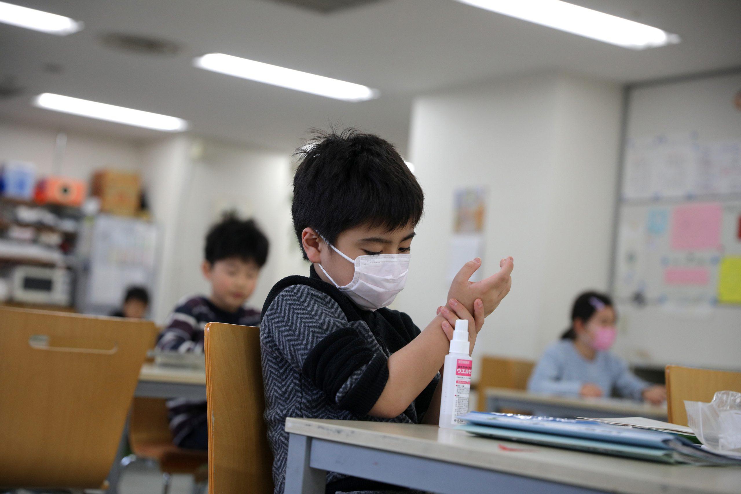 el coronavirus en los niños