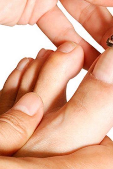 tips para las uñas negras