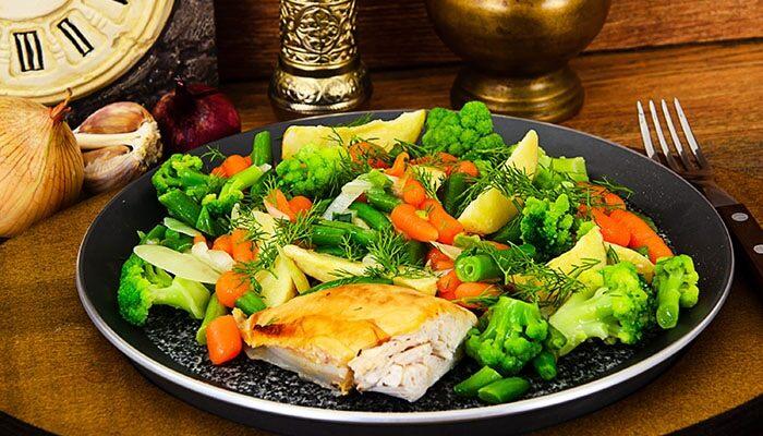 las verduras y comida sana