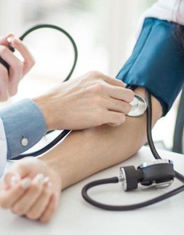 presión arterial alta