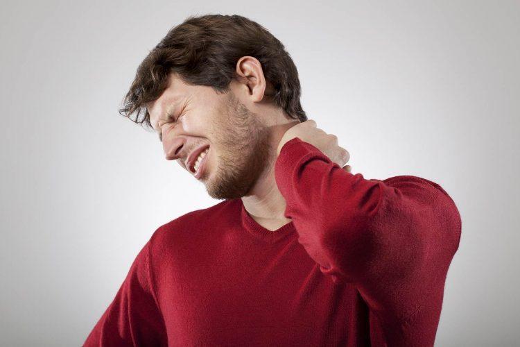 terrible dolor de cuello